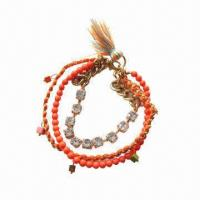 Buy cheap Tasseland multi-color stretch vintage bracelet product
