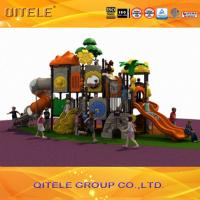 3D design LLDPE galvanized metal outdoor commercial play system playset for kids