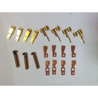 Buy cheap Customized Metal Stamping Brass, Punching Metal Stamping DiesCopper Contact Parts product