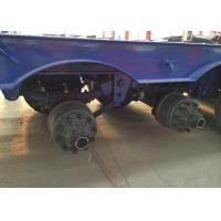 Buy cheap Low-bed Semi Trailer Truck 3 Axles 70Tons 15m for carrying construction machine product