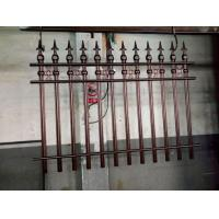 Buy cheap Wrought Iron Cast Iron Fence Rosettes For Home Decoration Iron Bar Fence product