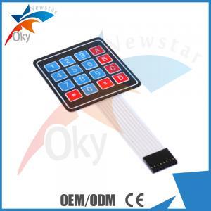Buy cheap 4 x 4 Matrix Array Breadboard For Arduino 16 Key Membrane Switch Keypad product