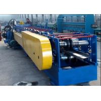 Buy cheap Cr12 Material Z Purlin Machine High Forming Speed PLC Controlling System product
