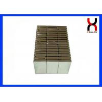 China Neodymium Block Magnets NdFeB Magnetic Material Block  / Cube  / Rectangle Magnet on sale