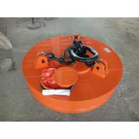 Buy cheap Professional Excavator Magnet Attachment All Welded Heavy Duty Construction product