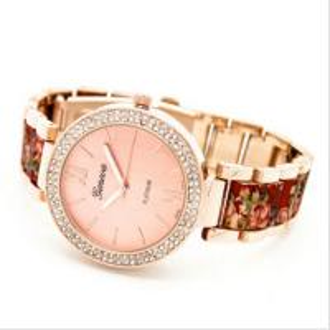 Buy cheap Vogue Diamond Geneva Flower Watch Pink /  Girl Wristwatches Rrelogio 2015 product