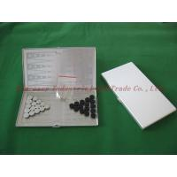 China Aluminum  magnetic chess sets , draught Game , on sale