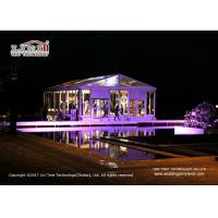 Buy cheap 200 People Outdoor Wedding Marquee / Waterproof Event Tent Dome Style product