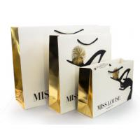 Buy cheap Luxury Shopping Paper Bags with Your Own Logo Printing Paper Bags product