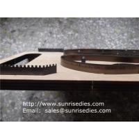 Buy cheap Indented teeth blade steel cutting dies for shoe insole, indentation rule cutting dies, from wholesalers