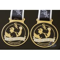 Buy cheap Toss Metal Awards Custom Sports Medals Bespoke Design Sublimated Ribbon product