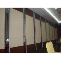 Buy cheap Hotel Banquet Hall Folding Partition Walls Melamine Fabric Finished ISO9001 from wholesalers