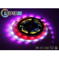 Quality Addressable RGB LED Strip Lights WS2812B Low Voltage DC 5V Type for sale