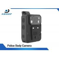 Buy cheap Build - In GPS Law Enforcement Body Camera , Police Body Cameras With 140 Degree Angle product