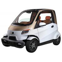 Buy cheap Remote Central Local Small Electric Cars , 60V 4000W Motor White Electric Car product
