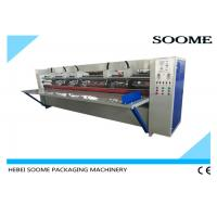 17mm Thick Board Slitting Creasing Machine , Corrugated Carton Thin Blade Slitter Scorer