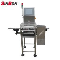 Buy cheap High Accuracy pharmaceutical Check Weigher conveyor weight scale in product