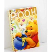 Buy cheap OK3D Manufacture High Quality Customized 3d lenticular notebook cover printing service with pp pet book cover product