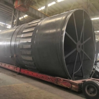 China AGMA Standard 110 TPH 310 T Cement Rotary Kiln on sale