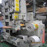 Buy cheap RY-330Automatic Sticker Stacked Flexographic UV Label Printing Machine product