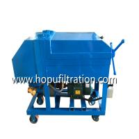 Buy cheap Plate frame oil filter machine, Press Oil Filtering Unit, Paper Media Filtration Equipment, oil purifier in China product