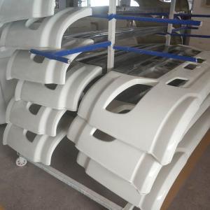 Buy cheap fiberglass bus body parts/fiberglass auto parts/FRP molded shell rear bumper product
