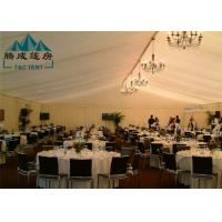 20m Width Fire Retardant A Shaped White Wedding Event Tents / Outdoor Wedding Reception Tent