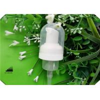 Buy cheap Cosmetic Pumps Body Wash Foam Dispenser Pump With Transparent Round Cap product
