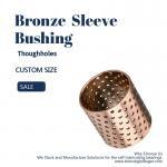 Buy cheap Thin - Walled Split Bronze Bushings Oil Pocket Metric Size Plain Bearing product