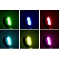 Buy cheap wholesale  LED Safety Bracelet For Running At Night  LED Gift Band  rechargeable with usb cable Fully adjustable product
