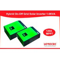 Buy cheap Pure Sine Wave Hybrid Solar Inverter / Solar Grid Tie Inverter For Home , Green Or White Color from Wholesalers