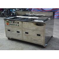Buy cheap Metal Screen Ultrasonic Cleaning Equipment Rinse Dry Consoles 80 KHZ 120 KHZ product