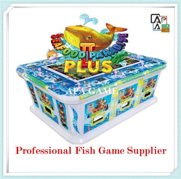8p seafood paridise 2 plus suchi fish shooting arcade for Fish game gambling