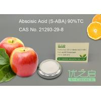 Buy cheap S - Abscisic Acid S - ABA Growth Inhibitor Hormone In Plants , Crystal Powder product