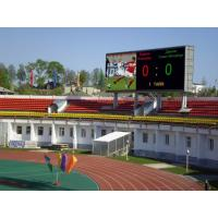 Buy cheap Outdoor P8 Full Color SMD  Stadium LED Display for Advertising  Video Meanwell Power Supply product