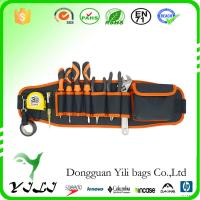 China Multifunctional Canvas Tool Bag With Belt Electrician Tool Belt Pouch on sale