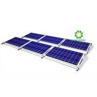 China Flexible Mobile Solar Panel Flat Roof Mounting System Landscape Orientation on sale