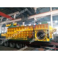 China Double Main Cylinder Scrap Baler Machine / Scrap Baling Machine High Speed on sale