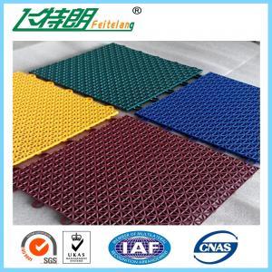 Buy cheap Multi Used Interlocking Sports Flooring Rubber Playground Tiles Polypropylene product