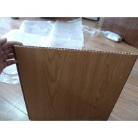 Buy cheap heat insulation pvc wall panel wooden color 40cm x 12mm for