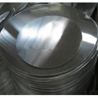Buy cheap O H12 H14 Aluminum Round Plate , Aluminium Sheet Circle For Deep Drawings product