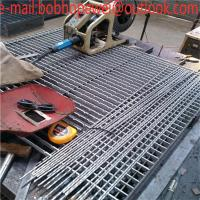Buy cheap steel floor grating sizes/steel grating clips/galvanized steel grating manufacturers/expanded metal grating price product