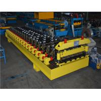 Buy cheap Automatic Roll Forming Roof Panel Roll Forming Machine , roof panel making machine product