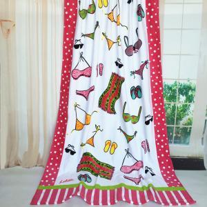 Wear Accessories Printed Beach Towel Pink Big Lounge Chair Towels