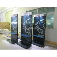 China OEM / ODM Retail Store LED Lighting Advertising Display Stand With Metal Hooks on sale