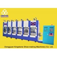 Buy cheap Automatic Single Color Slipper Making Machine 6 Stations Plastic Injection Molding Machine product