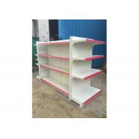 Buy cheap Double - sided Supermarket Display Shelving Rack , Retail Shelving System product