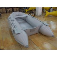 Buy cheap Tough PVC Inflatable Boats 6 Person Small Inflatable Dinghy With Aluminium Oars product