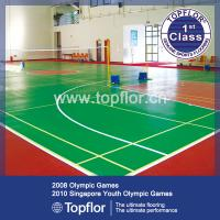 Buy cheap 6.0mm Indoor PVC Sports Court Flooring from Wholesalers