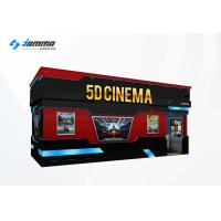 Buy cheap Optional Seats 5D Movie Theater Luxury Motion Chairs Flat Screen Dual Core Computer product
